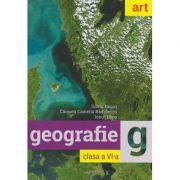 Geografie clasa a VI-a ( Editura: Art Grup editorial, Autori: Silviu Negut, Carmen Camelia Radulescu, Ionut Popa ISBN 978-606-003-101-7 )