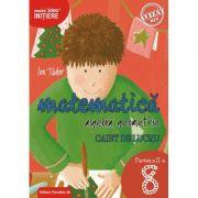 Matematica - Initiere: Artimetica, algebra, geometrie caiet de lucru pentru clasa a 8 a Partea a II-a (Editura: Paralela 45, Autor: Ion Tudor ISBN 9789734728695)