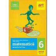 Matematica semestrul al II-lea clasa a 6-a Clubul Matematicienilor ( Editura: Art Grup editorial, Autori: Marius Perianu, Stefan Smarandoiu, Catalin Stanica, ISBN 9786060030270 )