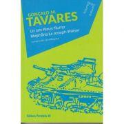 Un om: Klaus Klump. Masinaria lui Joseph Walser ( Editura: Paralela 45, Autor: Goncalo M. Tavares ISBN 978-973-47-2746-9 )