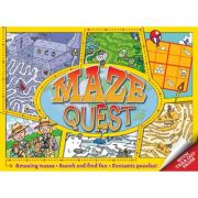 Maze Quest ( Editura: Outlet - carte limba engleza, Autor: Andy Peters ISBN 978-1-84858-369-6 )