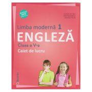 Limba moderna 1 Engleza Clasa a V-a Caiet de lucru ( Editura: Booklet, Autori: Liliana Putinei, Cristina Mircea, Cristina Truta ISBN 978-606-590-569-6 )