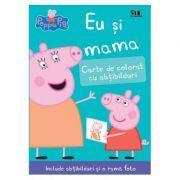 Peppa Pig: Eu si mama. Carte de colorat cu abtibilduri ( Editura: Art Grup editorial, Autori: Neville Astley și Mark Baker ISBN 978-606-788-291-9 )