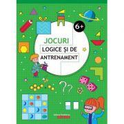 Jocuri logice si de antrenament 6+ ( Editura: Paralela 45, Autor: Ballon Media ISBN 978-973-47-2933-3 )