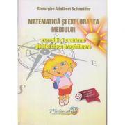 Matematica si explorarea mediului - exercitii si probleme pentru clasa pregatitoare ( Editura: Hyperion, Autor: Gheorghe Adalbert Schneider, ISBN 978-606-589-082-4 )
