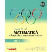 Matematica Olimpiade si concursuri scolare clasele IV-VI(Editura: Paralela 45, Autor: Gheorghe Cainiceanu (coord.) ISBN 978-973-47-2828-2 )