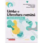 Exercitii practice Limba si Literatura Romana clasa a 6 a 2019( Editura: Paralela 45, Autor: Mina-Maria Rusu ISBN 978-973-47-3038-4 )