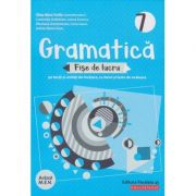 Gramatica fise de lucru pe lectii si unitati clasa a 7 a 2019(Editura: Paralela 45, Autor: Eliza-Mara Trofin ISBN 978-973-47-3029-2 )