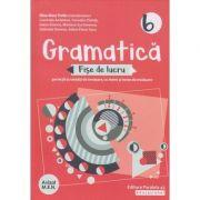 Gramatica fise de lucru pe lectii si unitati clasa a 6 a 2019 ( Editura: Paralela 45, autor: Eliza-Mara Trofin ISBN 978-973-47-3028-5)
