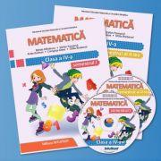 Matematica. Manual pentru clasa a IV-a. Semestrul I si II. Contine editia digitala ( Editura: Intuitext, Autori: Mirela Mihaescu, Stefan Pacearca ISBN 978-606-8681-57-3)