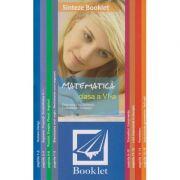 Sinteze - Matematica clasa a VI-a ( Editura: Booklet, Autor: *** ISBN 978-606-590-697-6)