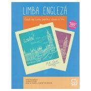 Limba engleza, caiet de lucru pentru clasa a V-a, EN086 (Editura: Booklet, Autori: Cristina Mircea, Liliana Putinei ISBN 978-606-590-763-8)