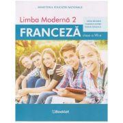 Limba moderna 2 - Franceza, manual pentru clasa a VII-a, MN08 (Editura: Booklet, Autori: Gina Belabed, Claudia Dobre, Diana Ionescu ISBN 978-606-590-737-9)