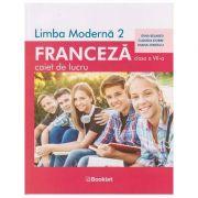 Limba franceza, caiet de lucru pentru clasa a VII-a, FR065 (Editura: Booklet, Autori: Gina Belabed, Claudia Dobre, Diana Ionescu ISBN 978-606-590-775-1)
