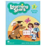 Learning Stars 2 Activity Book (Editura: Macmillan, Autor: Jeanne Perrett, Jill Leighton ISBN 978-0-230-45579-5)