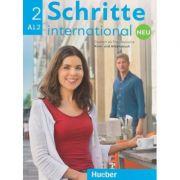 Schritte international Kurs-und Arbeitsbuch Neu Nr. 2 A1. 2 Zum CD ( Editura: Hueber, Autori: Daniela Niebisch, Sylvette Penning-Hiemstra, Franz Specht ISBN 978-3-19-601082-4 )
