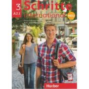 Schritte international Kurs-und Arbeitsbuch Neu Nr. 3 A2. 1 Zum CD ( Editura: Hueber, Autori: Silke Hilpert, Daniela Niebisch, Sylvette Penning-Hiemstra, ISBN 978-3-19-301084-1)
