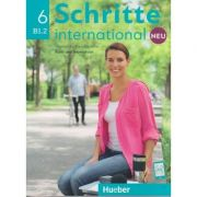 Schritte international Kurs-und Arbeitsbuch Neu Nr. 6 B1. 2 Zum CD ( Editura: Hueber, Autori: Silke Hilpert, Marion Kerner, Angela Pude ISBN 978-3-19-601086-2)