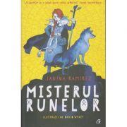 Misterul runelor( Editura: Curtea Veche, Autor: Janina Ramirez ISBN 978-606-44-0409-1)