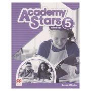 Academy Stars 5 Worbook (Editura: Macmillan, Autor: Susan Clarke ISBN 978-0-230-49022-2)