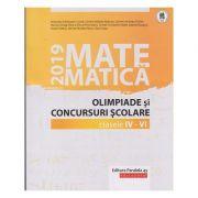 Olimpiade si concursuri clasele 4-6 2019 (Editura: Paralela 45, Autor: Gheorghe Cainiceanu ISBN 978-973-47-3110-7)