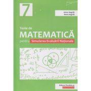 Teste de matematica pentru Simularea Evaluarii Nationale (Editura: Paralela 45, Autor: Anton Negrila, Maria Negrila ISBN 978-973-47-3079-7)
