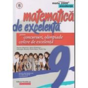 Matematica de excelenta clasa a 9 a (Editura: Paralela 45, Autor: Nicolae Musuroia ISBN 9789734730490)
