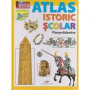 Atlas istoric scolar (Editura: CD Press, ISBN 9786065283565)