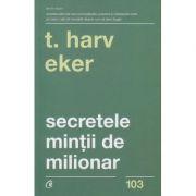 Secretul mintii de milionar(Editura: Curtea Veche, Autor: T. Harv Eker ISBN978-606-44-0229-5)