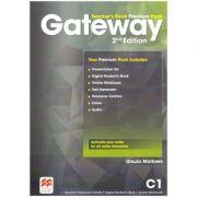 Gateway Teacher's Book Premium Pack 2nd Edition C1 ( Editura: Macmillan, Autor: Ursula Mallows ISBN 978-1-786-32311-8)