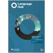 Language Hub Pre-Intermediate SB + access to Student's App B1 ( Editura: Macmillan, Autori: Daniel Brayshaw, Jon Hird ISBN 978-1-380-01690-4)