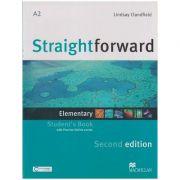 Straightforward Elementary Student s Book Second Edition (Editura: Macmillan, Autor: Lindsay Clandfield ISBN 9780230424456)