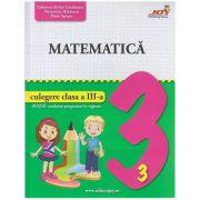 Culegere de matematica pentru clasa a 3 a (Editura: Joy, Autor(I): Valentuina Stefan-Cradeanu ISBN 978-606-8593-51-7)