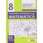 Matematica Evaluare Nationala 2020 50 de teste (Editura: Paralela 45, Autor(i): Anton Negrila, Maria Negrila ISBN 9789734732388