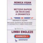 Metoda Rapida de invatare a gramaticii Limbii Engleze set 3 carti(Editura: For you, Autor: Monica Visan ISBN 9789731701943)