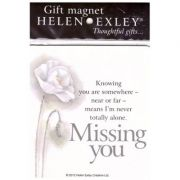 Gift magnet - Missing you