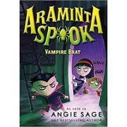 Araminta Spook: Vampire Brat (Araminta Spook 4) ( Editura: Bloomsbury Children's Books/Books Outlet, Autor: Angie Sage ISBN 9781408838679)