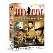 John Wayne Westerns Collection - 4 DVD Bookazine BOXSET