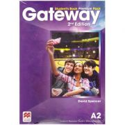 Gateway Student's Book Premium Pack, 2nd Edition, A2 ( Editura: Macmillan, Autor: David Spencer ISBN 9780230473102)