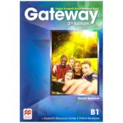 Gateway 2nd Edition, Digital Student's Book Premium Pack, B1 ( Editura: Macmillan, Autor: David Spencer ISBN 9780230498501)