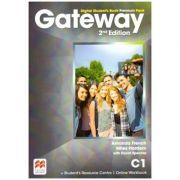 Gateway 2nd Edition, Digital Student's Book Premium Pack, C1( Editura: Macmillan, Autori: Amanda French, Miles Hordern with David Spencer ISBN 9781786323132)