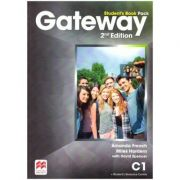 Gateway Student's Book Pack, 2nd Edition, C1 ( Editura: Macmillan, Autor: Amanda French, Miles Hordern with David Spencer ISBN 978-1-786-32315-6)