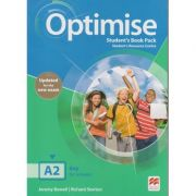 Optimise Student's Book Pack Student's Resource Centre ( Editura: Macmillan, Autori: Jeremy Bowell, Richard Storton ISBN 9781380031877)