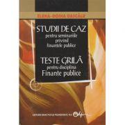 Studii de caz pentru seminariile privind finantele publice. Teste grila pentru disciplina Finante publice (Editura: Didactica si Pedagogica, Autor: Elena- Doina Dascalu ISBN 973-30-1163-0)
