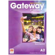 Gateway 2nd Edition, Digital Student's Book Pack, A2 ( Editura: Macmillan, Autor: David Spencer ISBN 9780230498488)