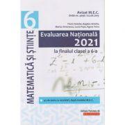Evaluarea Nationala 2021 la finalul clasei a VI-a - Matematica si stiinte ( Editura: Paralela 45, Autori: Florin Antohe, Bogdan Antohe, Marius Antonescu, Lucia Popa ISBN 978-973-47-3276-0)