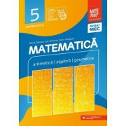 Matematica. Aritmetica, algebra, geometrie. Clasa a V-a. Consolidare. Partea a II-a (Editura: Paralela 45, Autori: Maria Zaharia, Dan Zaharia, Sorin Peligrad ISBN 9789734733071)