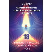 Surprinzatoarele coincidente numerice ale vietii – Big Bang si intepatura pe frunza de lotus vol. 3 ( Editura: Letras, Autor: Ligia Hotin ISBN 9786068935379)