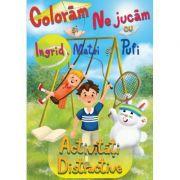 Coloram si ne jucam cu Ingrid, Matei si Pufi (volumul 2). Activitati distractive ( Editura: Lizuka Educativ, Autor: Ioana Cristina Vladoiu ISBN 9786068714738)