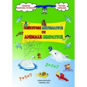 Ghicitori matematice cu animale simpatice ( Editura: Lizuka Educativ, Autor: Tatiana Tapalaga ISBN 9786068714462)